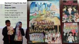 smjk shan tao johan naib johan dan tempat ketiga pertandingan melukis poster karnival integriti dan anti rasuah 2019