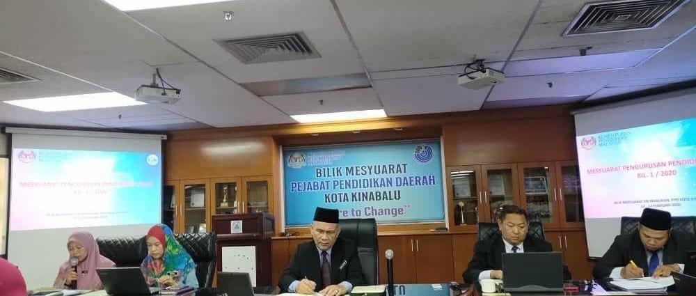 Mesyuarat Pengurusan Pendidikan Islam Bil 1 2020 Spi Jpn Di Bilik Sri Manukan Pejabat Pendidikan Daerah Kota Kinabalu Pejabat Pendidikan Daerah Kota Kinabalu