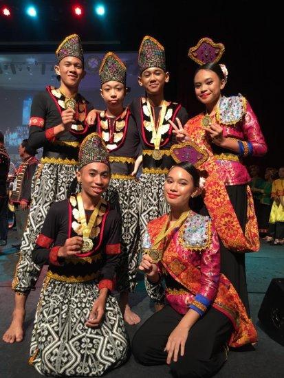 Pasukan Tarian Dari Beberapa Sekolah Rendah Di Sabah