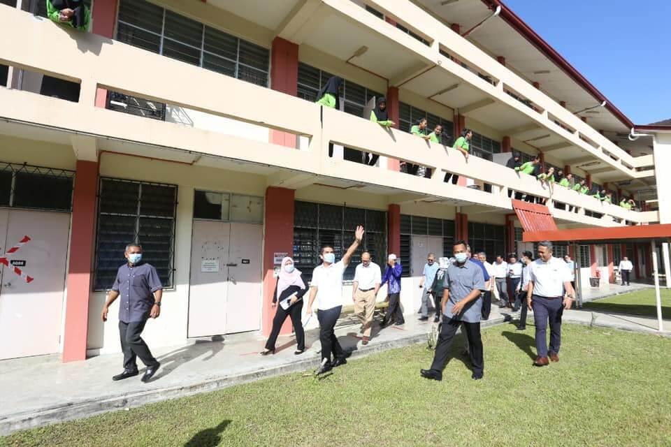 Lawatan Kerja Yb Dr Mohd Radzi Jidin Menteri Kanan Pendidikan Ke Smk Bandaraya Kota Kinabalu Pejabat Pendidikan Daerah Kota Kinabalu